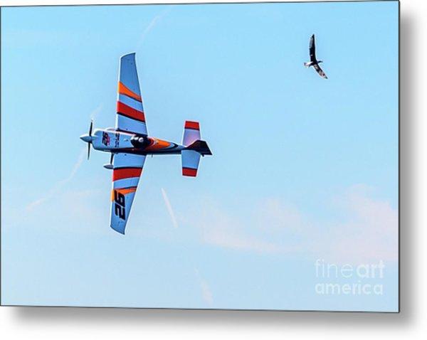 It's A Bird And A Plane, Red Bull Air Show, Rovinj, Croatia Metal Print