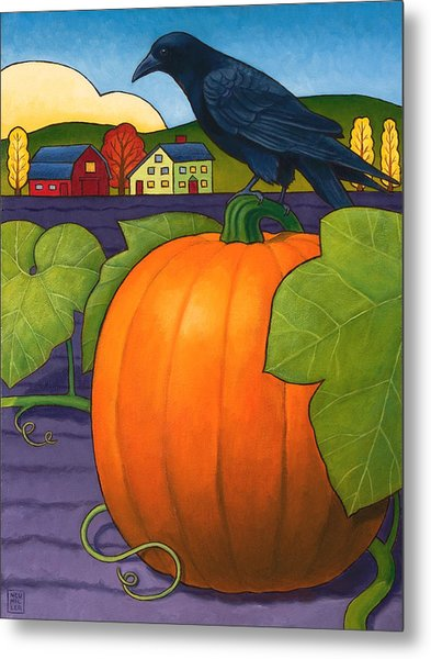Its A Great Pumpkin Metal Print