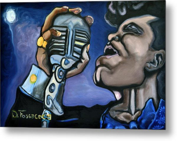 It's A Mans World- James Brown Metal Print