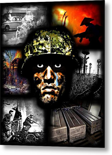 Its All In Your Head Metal Print