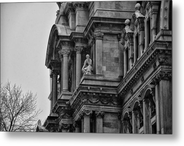It's In The Details - Philadelphia City Hall Metal Print