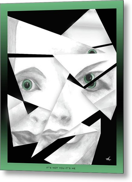 It's Not You It's Me Metal Print