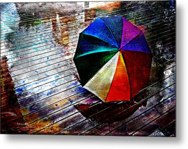 It's Raining Again Metal Print