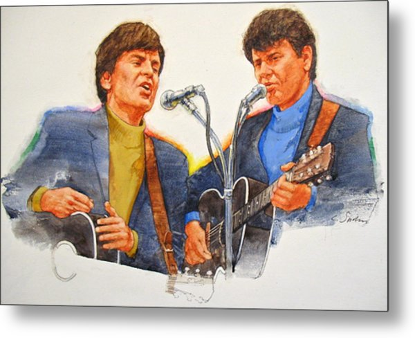 Its Rock And Roll 4  - Everly Brothers Metal Print