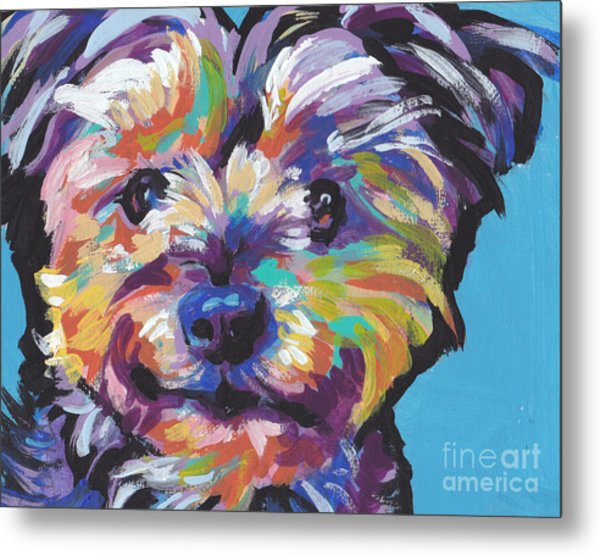 Itsy Bitsy Best Friend Metal Print