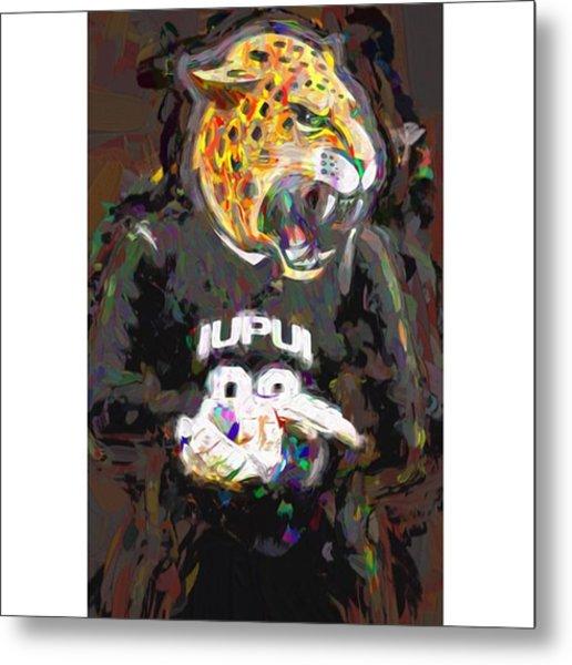 @iupui #iupuijaguars #iupui #jaguars Metal Print