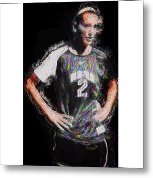 @iupui #soccer #futbol #painting Metal Print