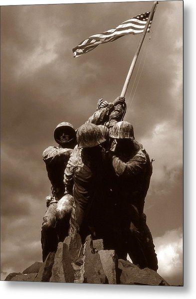 Iwo Jima War Memorial Washington Metal Print