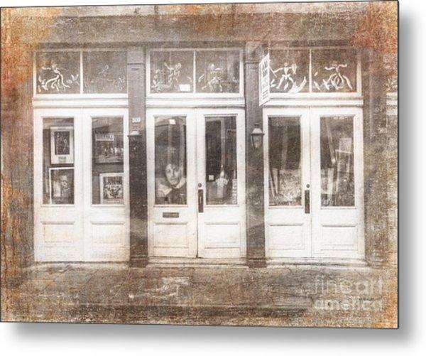 Jackson On Bourbon Street Metal Print