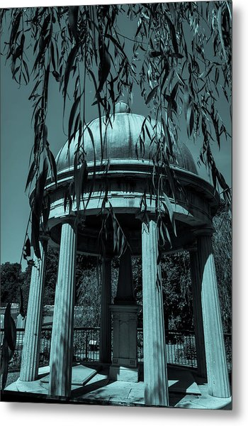 Metal Print featuring the photograph Jackson Tomb by James L Bartlett
