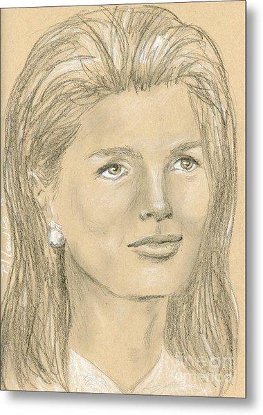 Jacqueline Kennedy Metal Print