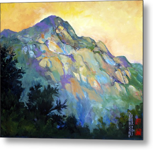Jade Mountain Metal Print