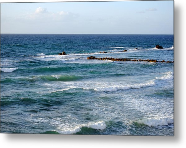 Jaffa Beach 10 Metal Print