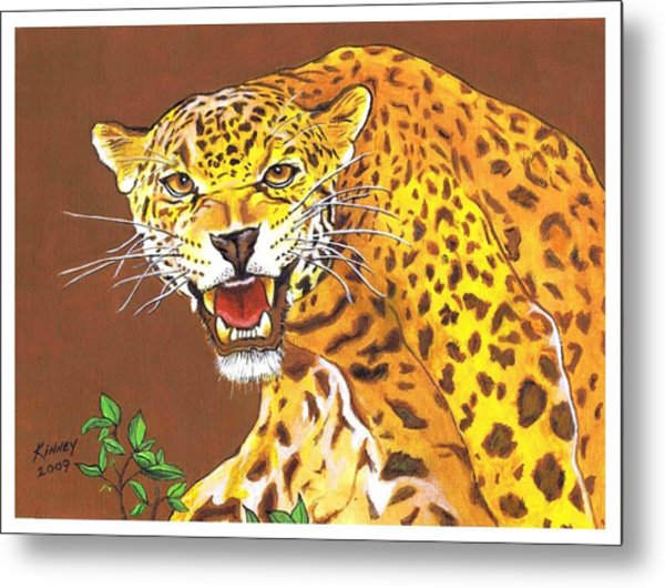 Jaguar Metal Print by Jay Kinney