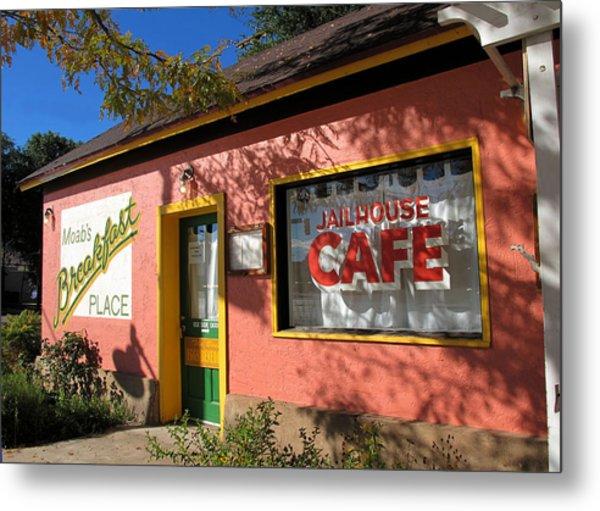Jailhouse Cafe Moab Utah Metal Print