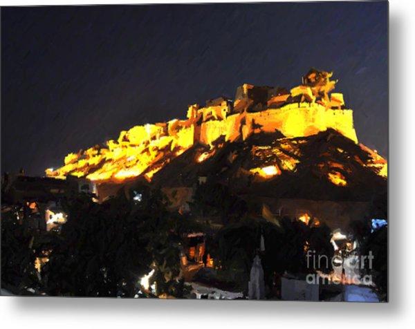 Jaisalmer Desert Festival-3 Metal Print