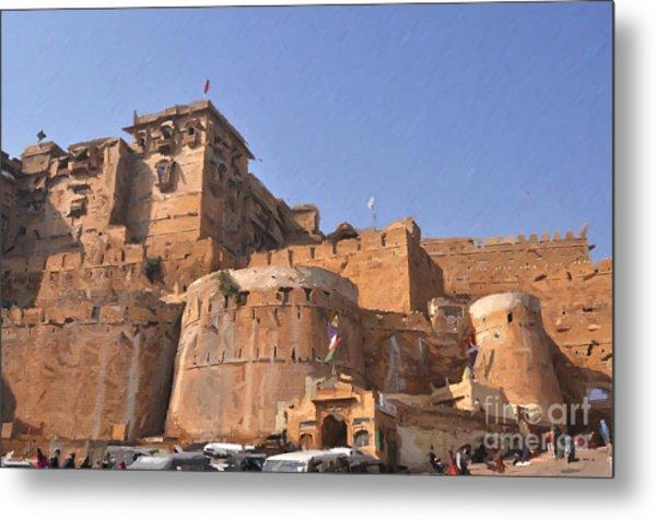 Jaisalmer Desert Festival-9 Metal Print