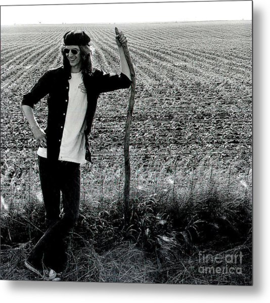 James At 18yrs. Metal Print