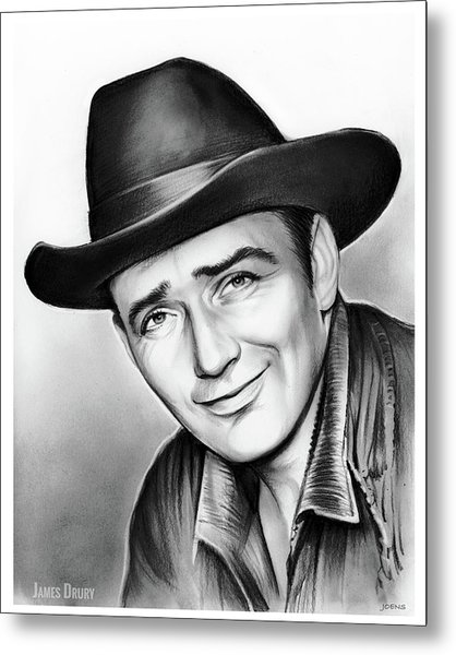 James Drury Metal Print