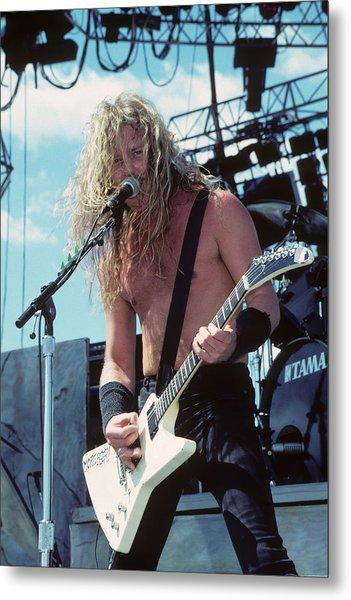 James Hetfield Of Metallica Metal Print