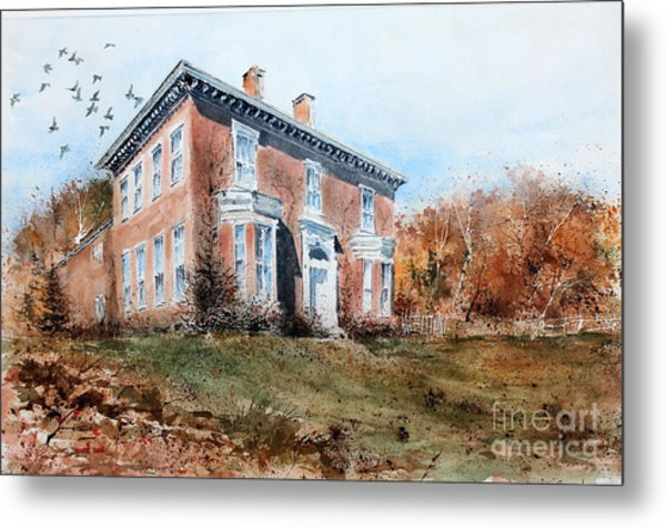 James Mcleaster House Metal Print
