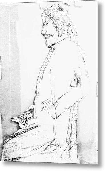James Whistler's Portrait Metal Print
