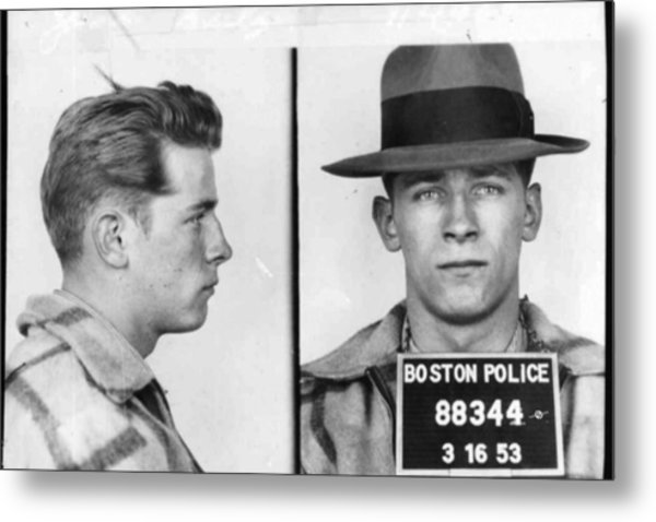 James Whitey Bulger Mug Shot 1953 Horizontal Metal Print