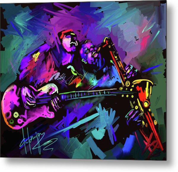 Jammin' The Funk Metal Print