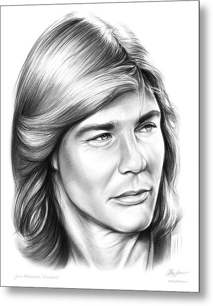 Jan Michael Vincent Metal Print