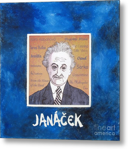 Janacek Metal Print by Paul Helm