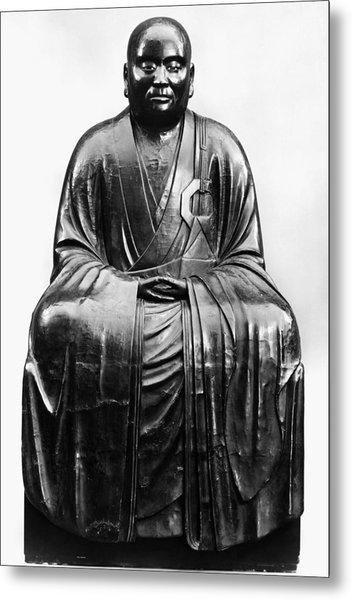 Japan: Zen Priest Metal Print