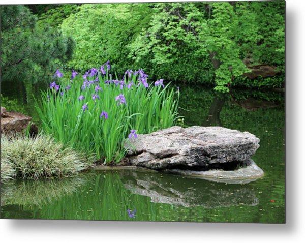 Japanese Gardens - Spring 02 Metal Print