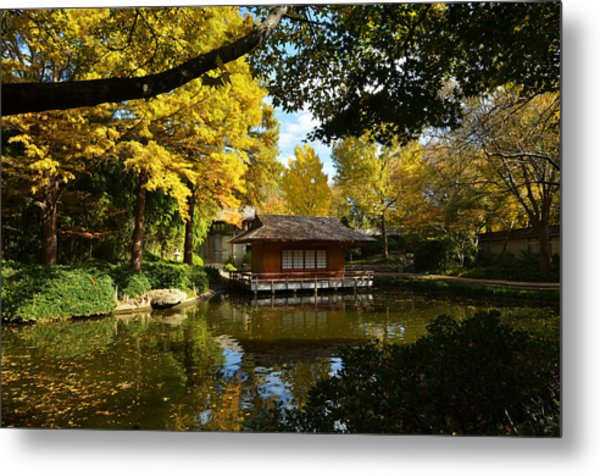 Japanese Gardens 2541a Metal Print