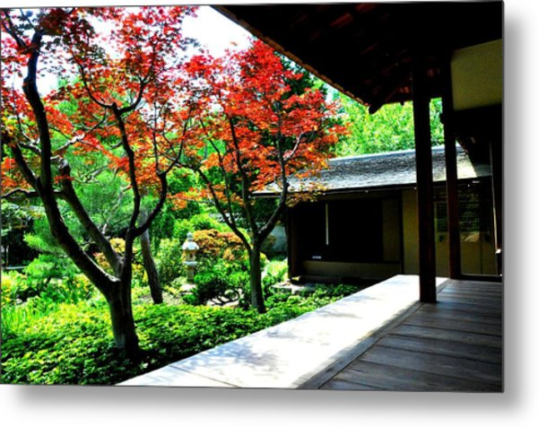 Japanese House Metal Print by Andrew Dinh