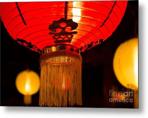 Japanese Lantern 1 Metal Print