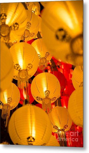 Japanese Lantern 3 Metal Print