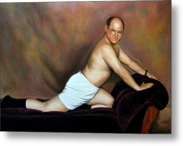 Jason Alexander As George Costanza Metal Print
