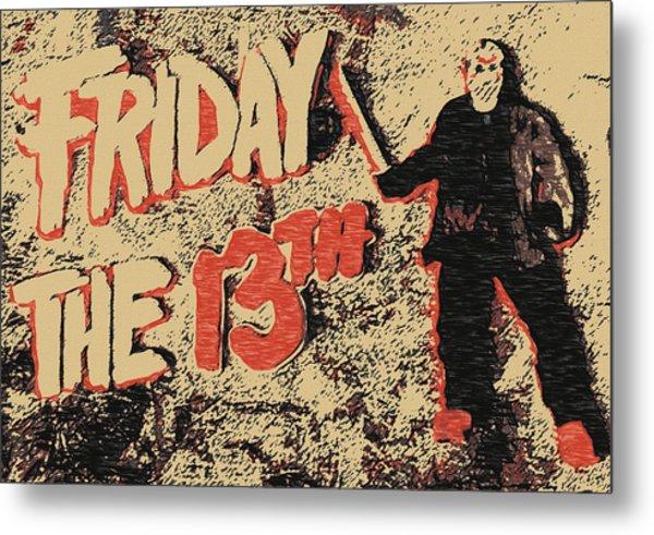 Jason Lives Metal Print