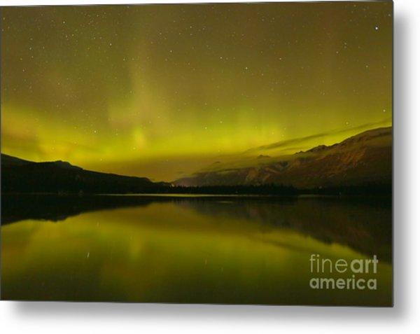 Jasper National Park Aurora Borealis Metal Print