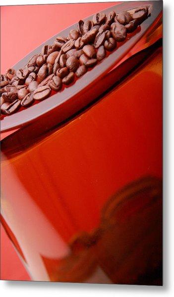 Java In Red Metal Print