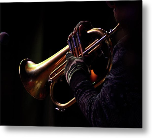 Jazz 16 Metal Print