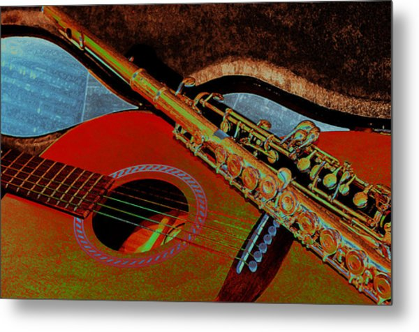 Jazz Band Metal Print