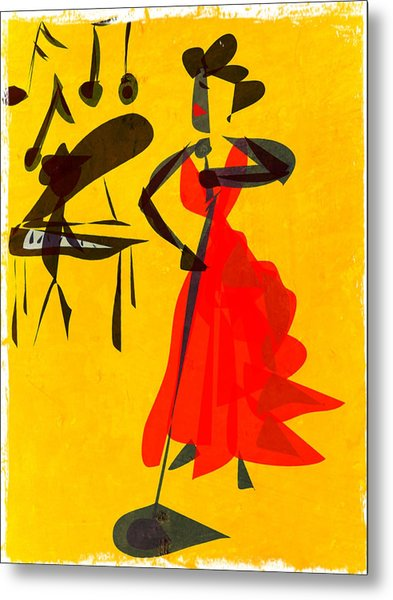 Jazz Review Metal Print by Betsey Walker Culliton