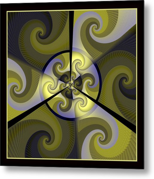 Jazz Transfusion Squared Metal Print by David April