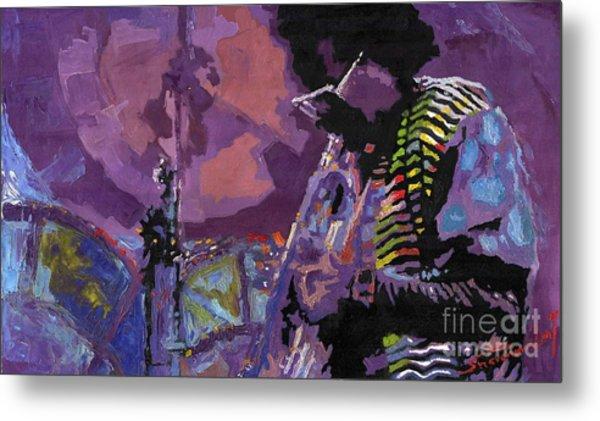Jazz.miles Davis.4. Metal Print