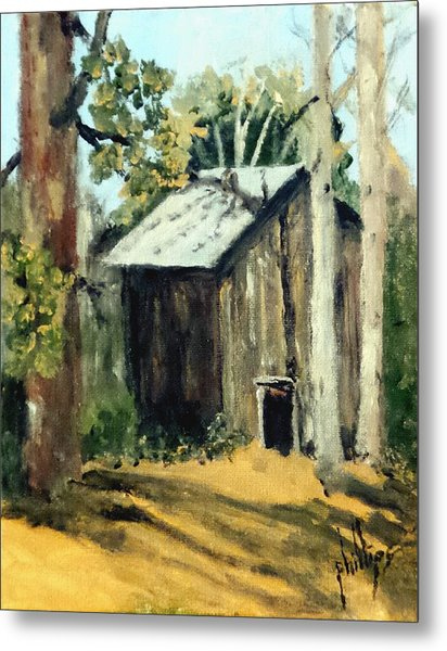 Jd's Backker Barn Metal Print