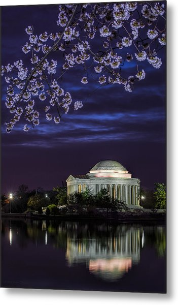 Jefferson Cherry Sunrise Metal Print