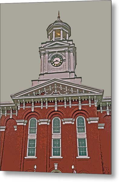 Jefferson County Courthouse Metal Print