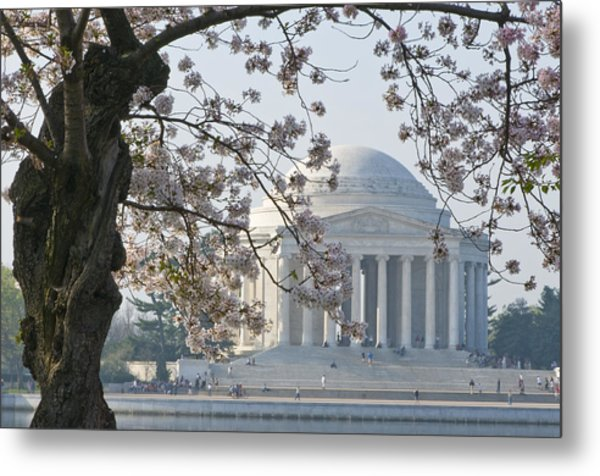 Jefferson Morning Metal Print