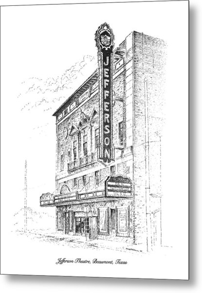 Jefferson Theatre Metal Print